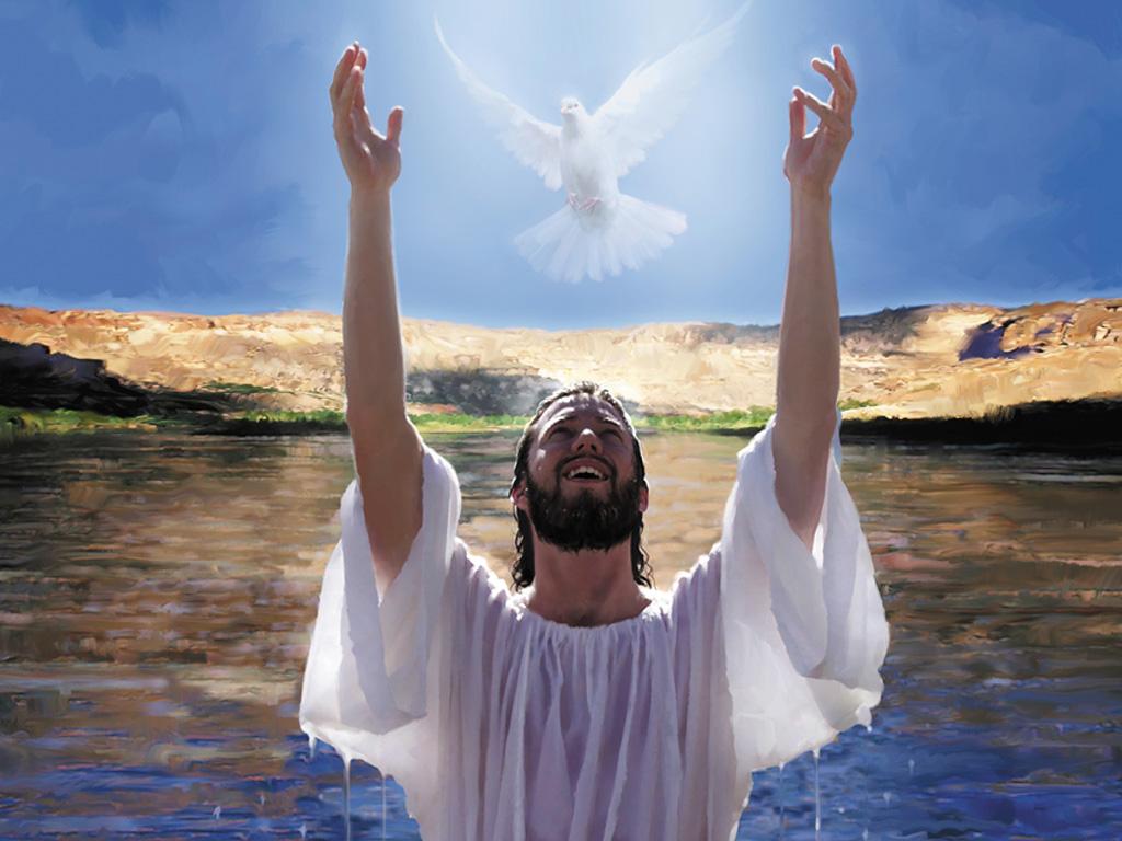 Jezus Chrystus objawia Ducha Świętego